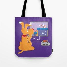Robot Game Tote Bag