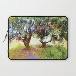 Wishing Tree on Tara Hill Laptop Sleeve