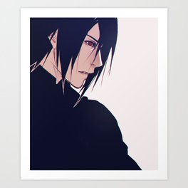 Adult Sasuke Art Print