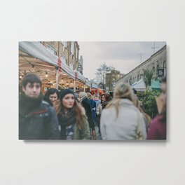 Columbia Road Flower Market, London Metal Print