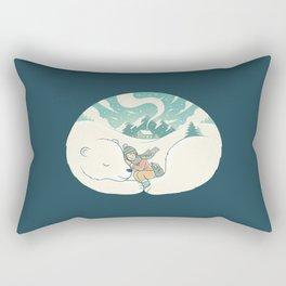 Cozy Winter Rectangular Pillow