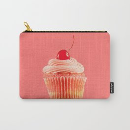 Cupcake Love | Pink with a Cherry on Top Carry-All Pouch