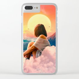 Volcanos Clear iPhone Case