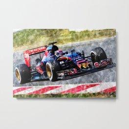 Max Verstappen 2015 Metal Print