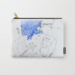 NUDEGRAFIA - 17  I am hope Carry-All Pouch