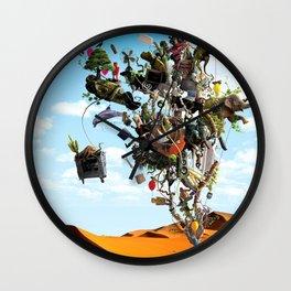 Surreal artwork Wall Clock