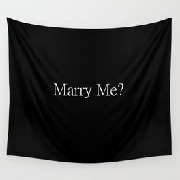 Marry Me? Proposal Tools Wall Tapestry