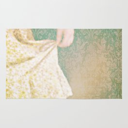 The Yellow Dress. Rug