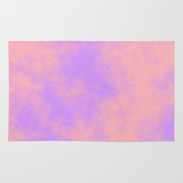 Cotton Candy Clouds - Pink & Purple Rug