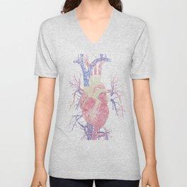 Heart (Biro) Unisex V-Neck