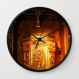 Catholic tabernacle Wall Clock