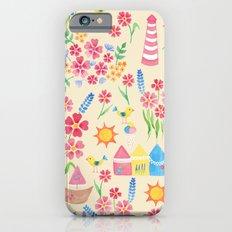 Watercolour seaside pattern Slim Case iPhone 6s