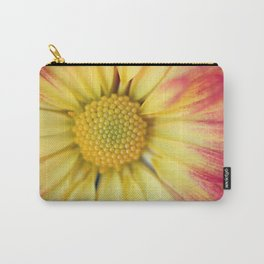 Orange and Yellow Mum Carry-All Pouch