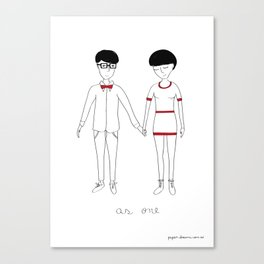As One Canvas Print