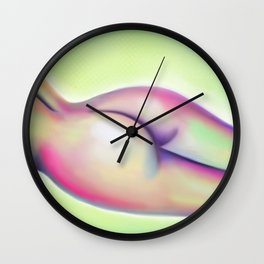 Wear Only a Smile Wall Clock
