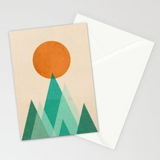 No mountains high enough Stationery Cards