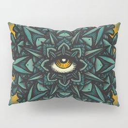 Mandala Eye - Color Variant 1 Pillow Sham