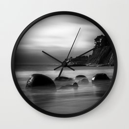 Just Another Beach Bowling Ball Beach hig tide Wall Clock