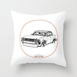 Crazy Car Art 0204 Throw Pillow