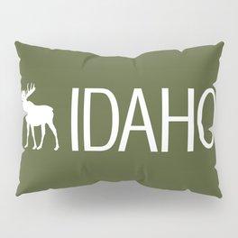Idaho: Moose (Mountain Green) Pillow Sham