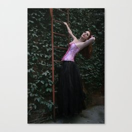 The Princess Canvas Print