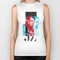 jay z Biker Tanks featuring JAY-Z by michael pfister