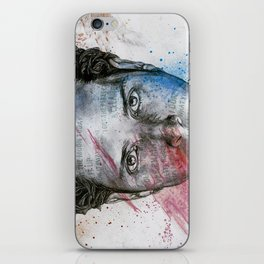 Pretty Noose: Red & Blue: Tribute to Chris Cornell iPhone Skin