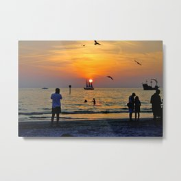 Clearwater Beach, FL Metal Print