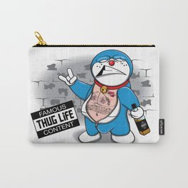Blue Thug Life Carry-All Pouch
