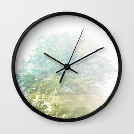 Where the sea sings to the trees - 9 Wall Clock