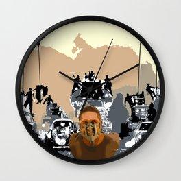 Mad Max Rockatansky Wall Clock