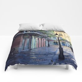 New Orleans - Dawns Early Light Comforters