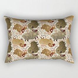 Grazing Sheep Rectangular Pillow