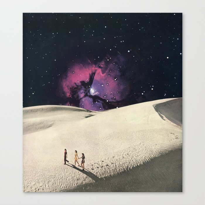Desert Nights Canvas Print