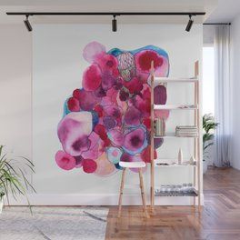 Sherbert Watercolour Wall Mural
