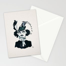 Edgar Poe - Nevermore Stationery Cards