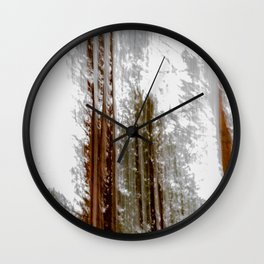 Liquid, Photopainting Wall Clock