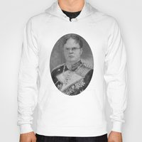 dwight schrute Hoodies featuring Kaiser Dwight by ThePencilClub