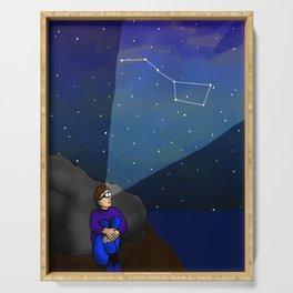 AR Glasses Star Constellations Serving Tray
