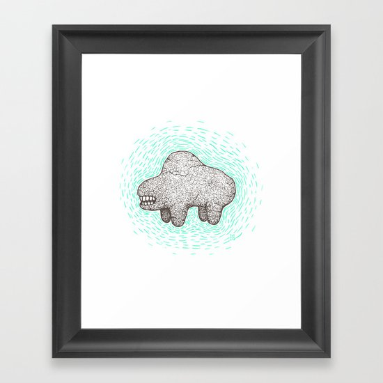 Icon Framed Art Print