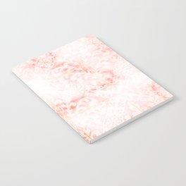 Rosie floral motif Notebook