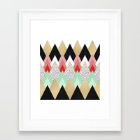 princess Framed Art Prints featuring Princess by Elisabeth Fredriksson