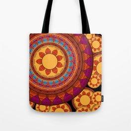 Ethnic Indian Mandala Tote Bag