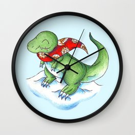 Winter Rex Wall Clock