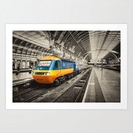 HST Paddington Art Print
