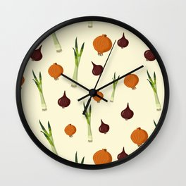 Onion pattern Wall Clock