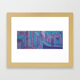 VALENCIA (CALLE CABALLEROS) Framed Art Print