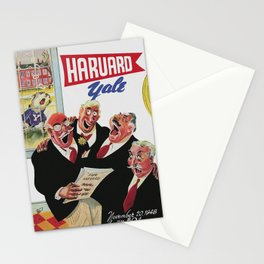 Harvard Yale Game 1948 Stationery Cards