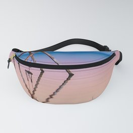 Stunning Salton Sea Swing Sunset (pink and blue) Fanny Pack