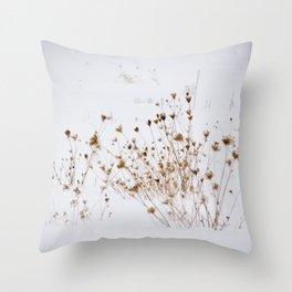Winter Meadow Throw Pillow